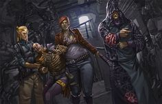 Catalyst Game Labs : Shadowrun Lockdown and Bloody Business Art...