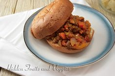 Sweet and Savory Lentil Joes