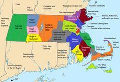 Massachusetts stereotypes map [OC] [2000x1366]
