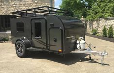 33 Awesome Off Road Adventure Hiker Trailer , If you're thinking of a trailer for off-road usage, it's important to make certain that the suspension and tires are capable of handling the kind of t. Travel Trailer Rental, Off Road Camper Trailer, Rv Rental, Camper Trailers, Off Road Teardrop Trailer, Trailer Build, Truck Camper, Travel Trailers, Camper Van