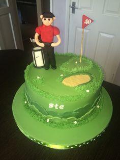 Golfers cake