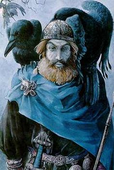 Odin With His Ravens
