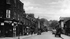 Tour Scotland Photographs: Old Photograph Gray Street Broughty Ferry Scotland