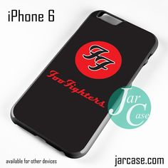 Foo Fighters Logo Phone case for iPhone 6 and other iPhone devices