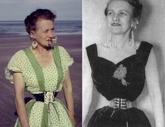 """There are the people called """"tightlacers"""". They use the corset to train their waists to get smaller and smaller. A few of these are known through times. Ethel Granger for example. She died in 1950, and was then listed in the Guinness Book of World Records as having the smallest waist on earth - 13 inches (33 cm)!"""