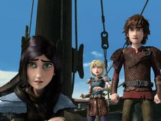 RTTE 1x11 Have Dragon Will Travel, Part 2 - Heather, Hiccup, aStrid