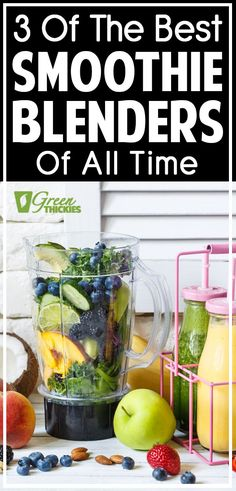 My Most Loved Smoothie Blenders For All Budgets I really wanted a blender that would crush ice and frozen fruit without spending a fortune and I've now made a decision. Smoothies really help me managed my weight. Best Smoothie Blender, Best Green Smoothie, Smoothie Prep, Fruit Smoothie Recipes, Smoothie Ingredients, Make Ahead Smoothies, Good Smoothies, Protein Smoothies, Best Blenders