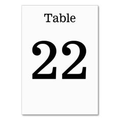 Shop Minimalist, Elegant, Simple, Plain Black & White Table Number created by AponxDesigns. Plain Black, Black And White, Table Names, Anniversary Quotes, Minimalist Wedding, Love Messages, Keep It Cleaner, Elegant, Simple