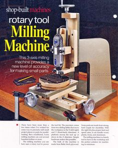 DIY Milling Machine - Router