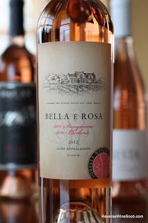 Sorelle Winery Bella e Rosa 2012 - More Than Your Typical Rosé. Loco for Lodi #Wine 6. http://www.reversewinesnob.com/2013/06/sorelle-winery-bella-e-rosa-2012.html #winelover