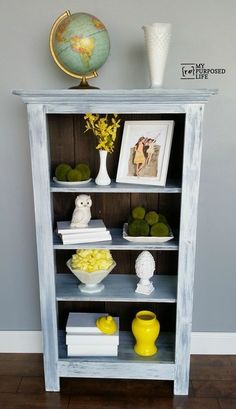 How to make a DIY tall window cabinet out of spare parts and an old window. Step by step directions to build and paint a window cabinet using a Finish Max. Diy Cabinets, Diy Window, Repurposed Windows, Bookshelf Decor, Shelves, Tall Windows, Tall Bookshelves, Shelf Design, Bookshelves Diy