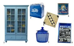 Our favourite blue items! Style with blue this season! Chicken Wire Cabinets, Colour Inspiration, Seasons, Blue, Color, Style, Colour, Seasons Of The Year, Colors