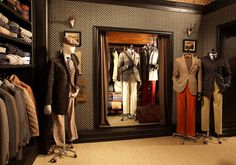"HACKETT LONDON,""They are watching us,George"", pinned by Ton van der Veer"