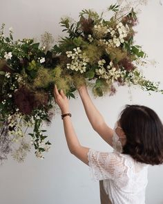 White Wedding Flowers, Green Wedding, Floral Wedding, Wedding Bouquets, Ethereal Wedding, Flower Decorations, Wedding Designs, Floral Arrangements, Wedding Ceremony