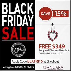 Exclusive Black Friday Jewelry Deals at Angara