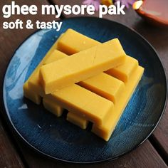 ghee mysore pak recipe, soft mysore pak, sweet mysore pak with step by step photo/video. traditional indian sweet recipe made with besan flour, ghee & sugar Sweets Recipes, Indian Food Recipes, Kitchen Recipes, Cooking Recipes, Carrot Fries, South Indian Food, Indian Sweets, Mysore, Going Vegan