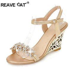 9e2d13904c5111 Cheap wedge sandals wedding