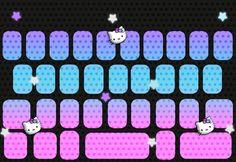 Cartoon Wallpaper Hd, I Wallpaper, Colorful Wallpaper, Neon Girl, Keyboard Cover, Hush Hush, Sanrio, Dog Tag Necklace, Iphone Wallpapers