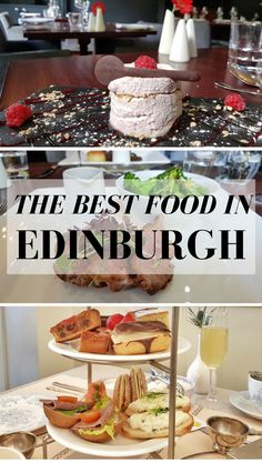 What are the best foodie experiences in Edinburgh? Here's where to find the best brunch, lunch and afternoon tea in the city! #Food #Edinburghscotland