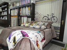 Los colores cálidos se apoderan del invierno, dando un aspecto confortable y acogedor, ideal para vuestro dormitorio.