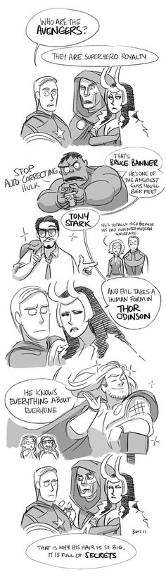Avengers and Mean Girls crossover