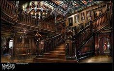 victorian mansion interior - Google Search