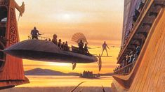 Star Wars, The Art of Ralph Angus McQuarrie : 100 Concept Art - Daily Art, Movie Art