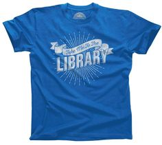 Men's Take Me To The Library T-Shirt