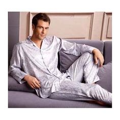 1000+ images about Men Silk Pajamas on Pinterest