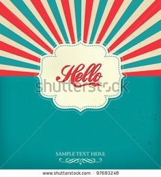 stock vector : Vintage Design Template