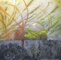 """Grasshopper"" - Stephanie Pui-Mun Law - Shadowscapes"