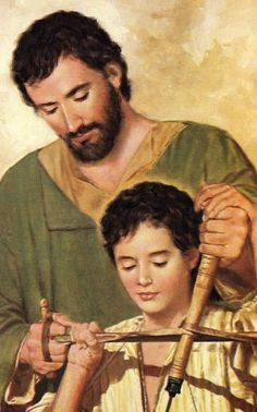 ® Blog Católico Gotitas Espirituales  ®: IMÁGENES DE SAN JOSÉ St Joseph Catholic, Catholic Art, Catholic Saints, Religious Art, Christian Artwork, Christian Images, Religious Pictures, Jesus Pictures, Clara Berry