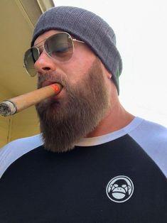 My Favorite Cigar Men Handsome Bearded Men, Hairy Men, Moustache, Man Smoking, Cigar Smoking, Beard Beanie, Beard Logo, Beard Head, Cigar Men