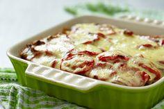 Aardappelschotel met tomaat en kaas Potato Salad, Mashed Potatoes, Ethnic Recipes, Cooking, Tomatoes, Whipped Potatoes, Smash Potatoes