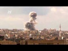 SYRIA SYRIAN AIR FOCE AIRSTRIKES OVER DARAA CITY AFTER «TAHRIR AL SHAM» ...