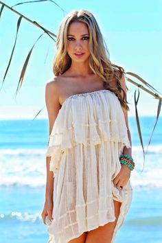 Beachy Dress - Sexxy!
