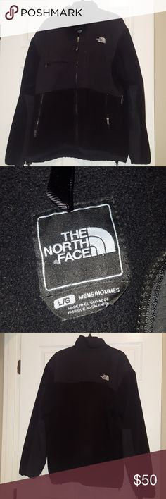 Men's The North Face Large Denali Jacket Men's The North Face Large Denali Jacket, in good condition. Small pick on front see picture I wouldn't mention it because it isn't noticeable but for full disclosure.    I will accept reasonable offers. The North Face Jackets & Coats