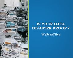 Customed Social Media Graphics for We Scan Files Document Scanning by CI Web Group