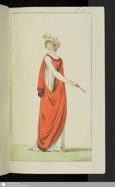June 1801 Journal des Luxus under der Moden