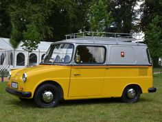 "VW Volkswagen Typ 147 ""Fridolin"", 1968 by Bernd Tuchen, via Flickr"