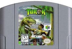 Turok Dinosaur Hunter - N64 Game Dinosaur Hunter, Nintendo 64 Games, Valiant Comics, Original Nintendo, School Games, Game Sales, Video Games, Comic Books, Baseball Cards