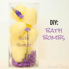 Who doesn't like bath fizzy bombs? I know my kids go crazy over these things and you can easily make these DIY bath fizzy bombs yourself!