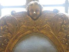 06 Nice, palais Lascaris, dossier de siège 17°s