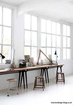 Console Desk - http://www.interiordesign-blog.co.uk/interior-design-ideas/console-desk.html