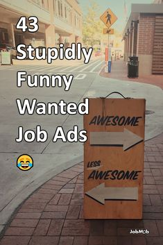 Some of the funniest help wanted ad examples and now hiring signs you'll ever see. Now Hiring Sign, Jobs Hiring, Help Wanted Ads, Funny Jobs, Career Consultant, Job Ads, Career Coach, Career Advice, Funny Signs