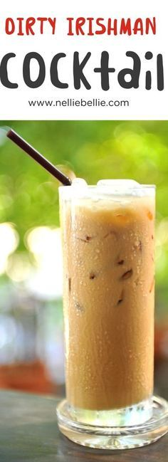 The ideal cocktail for St. Patrick's Day! Irish cream punches up the flavor of a traditional Irish coffee recipe. Cool and refreshing! via @huttonjanel