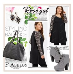 """""""Styling balance"""" by car69 ❤ liked on Polyvore featuring vintage, fashionable and rosegal"""
