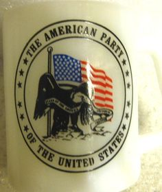 Vintage Fenton The American Party of the US Milk by ChinaGalore, $13.50