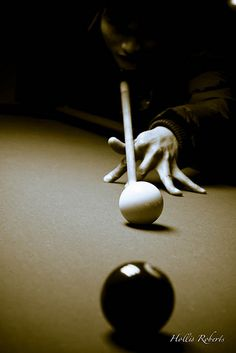 """Sweet!! The name on the bottom kinda looks like """"Hallie Roberts"""", lol. Maybe my granddaughter will be a billiards pro someday!! : )"""