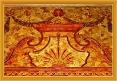 Mythos Bernsteinzimmer - Pictures of the legendary Amber Room in the Catherine Palace near St. Petersburg showed all magazines in 2003. However, the craftsmanship is evident only in the details. (F11 key increases the screen area).